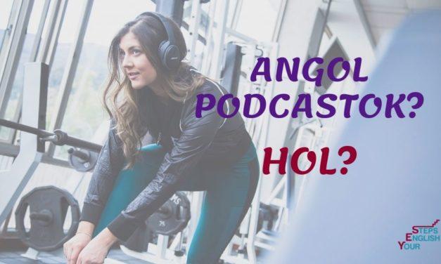 Angol podcastok lelőhelyei