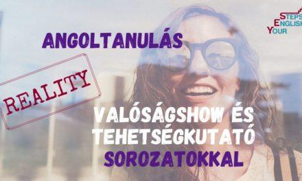 Angoltanulás valóságshow és tehetségkutató sorozatokkal