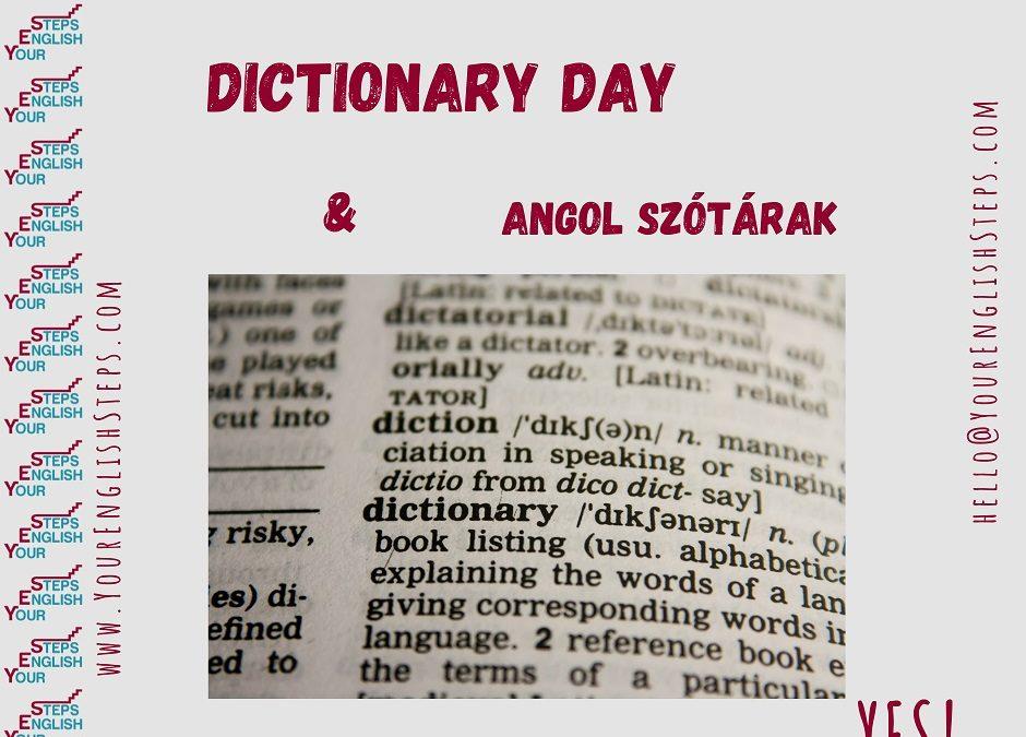 Dictionary Day és angol szótárak