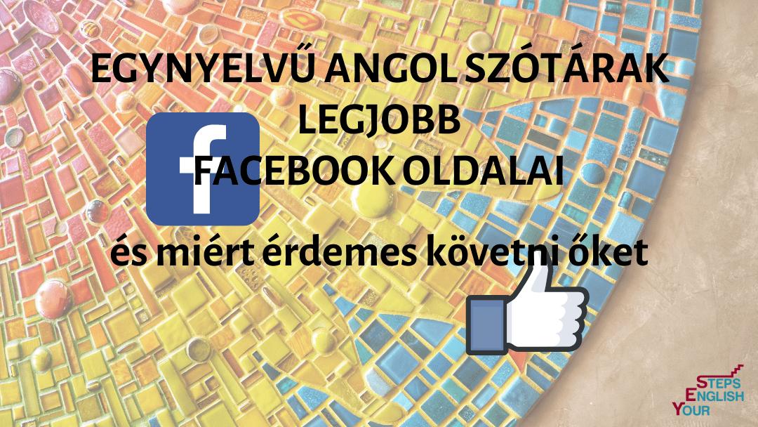 YES YourEnglishSteps Blog angol Judittal 2021 egynyelvű angol szótárak legjobb facebook oldalai